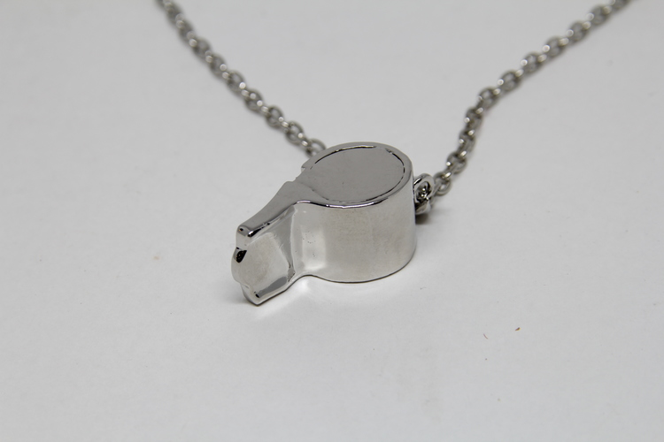 Halsband med Imitations Visselpipa Strass