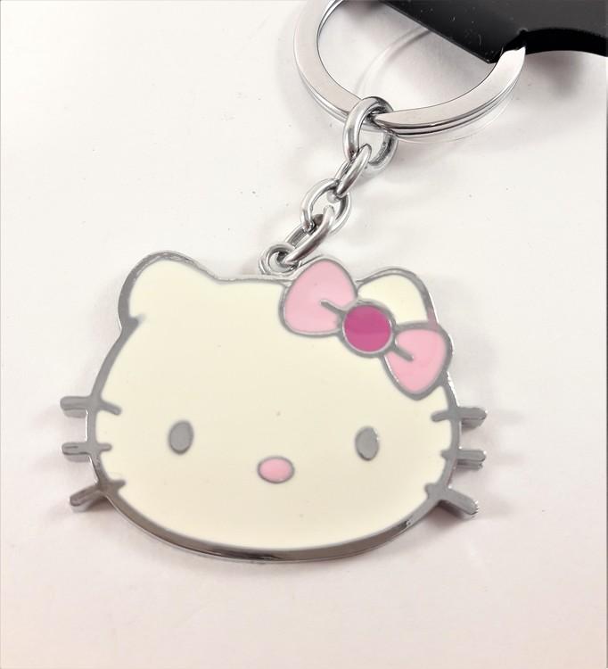 Nyckelring med Hello Kitty-motiv