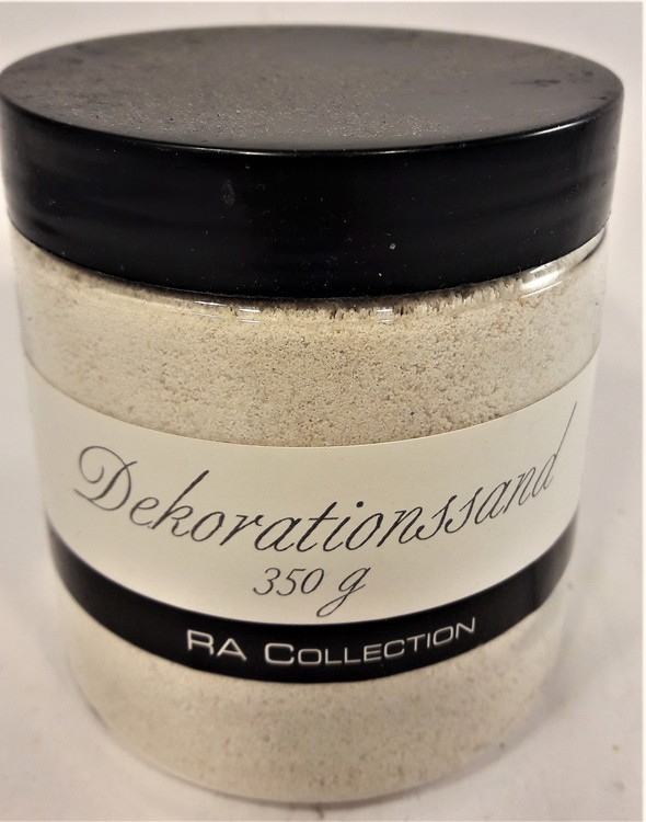 Dekorationssand 350 gram, RA Collection