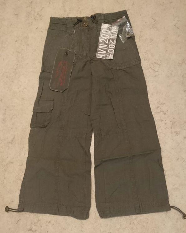Tuffa byxor för kille och tjej, stl 120-170, mörkgröna, Havana