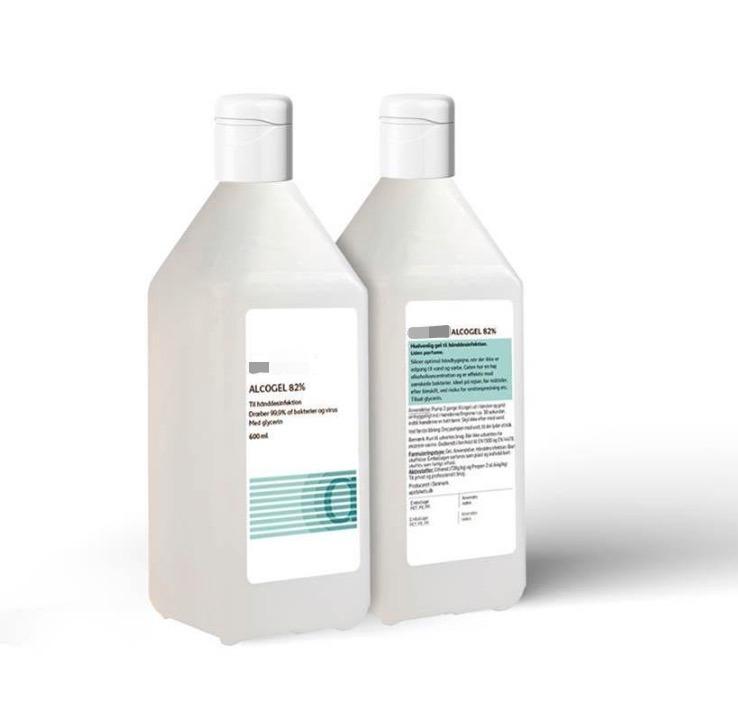 Alkogel 82 % 600 ml
