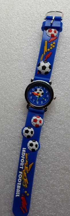 Barnklocka Fotboll, Just nu en extra på köpet på alla barnklockor!