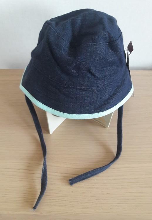 Ziestha sommarhatt Mini för barn, mörkblå, storlek Small