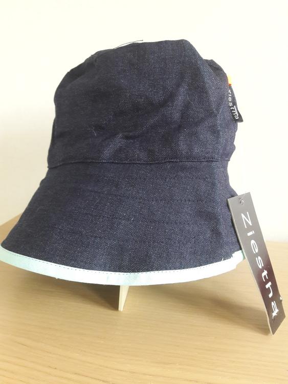 Ziestha sommarhatt, mörkblå, storlek Medium