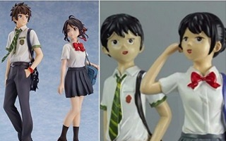 Falska kopior animefigurer Your Name