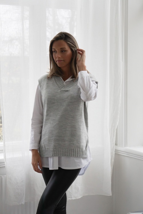 MA CHÉRIE - Ariele Slipover Light Grey