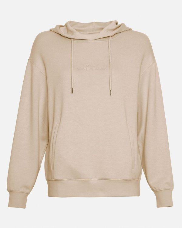 MOSS COPENHAGEN - Logo Hood Sweatshirt
