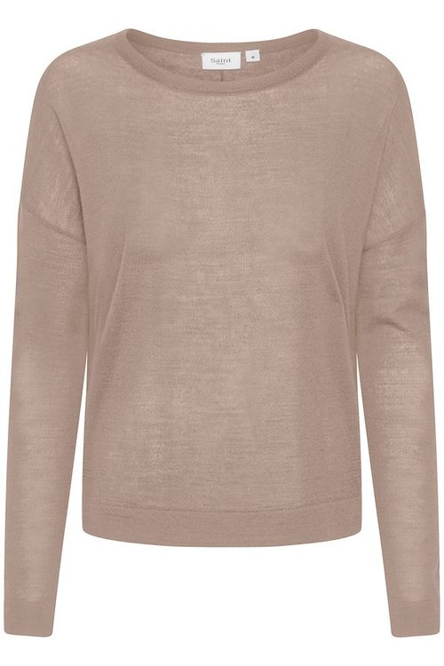 SAINT TROPEZ - Stickad Pullover