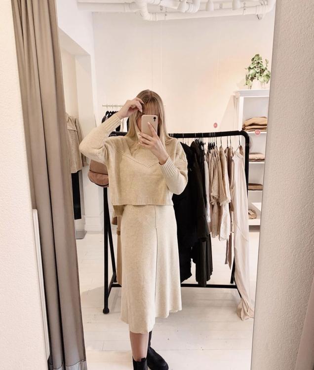 Y.A.S - Midi Knit Skirt