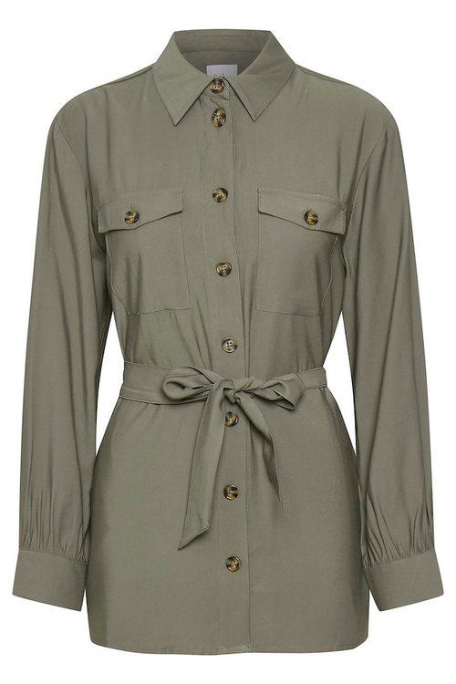 SAINT TROPEZ - Grön skjorta/jacka
