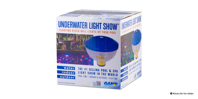 Flytande LED-belysning Liten