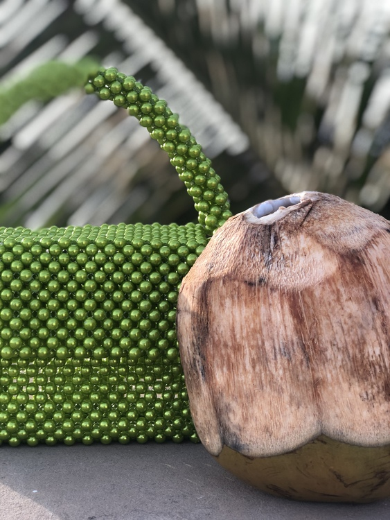 Bead Bag Green