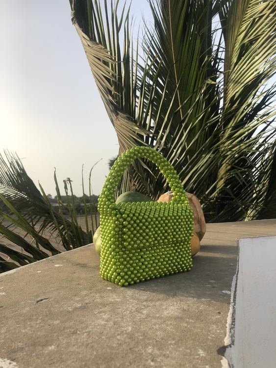 Bead Bag Green