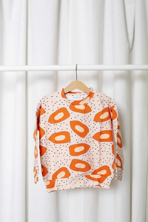 Papaya Sweat Shirt