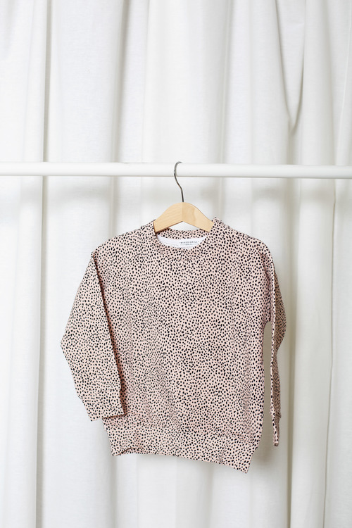 Small Dot Sweat shirt