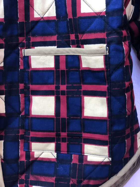Squared Quilted Jacket