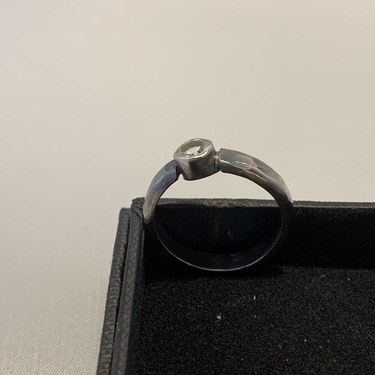 Bergskristall ring