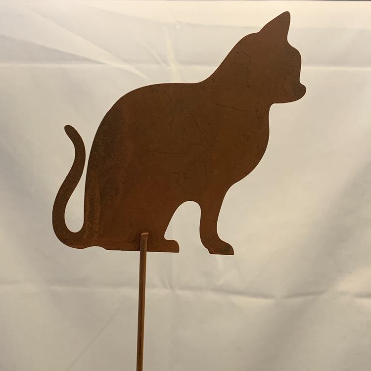 Katt på pinne