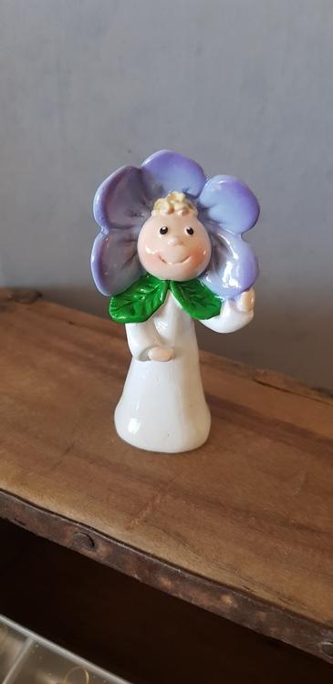 Blomsterflicka Florina lila