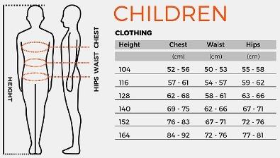 storlekstabell barn