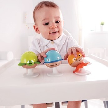 Hape Sea animals Rattle set
