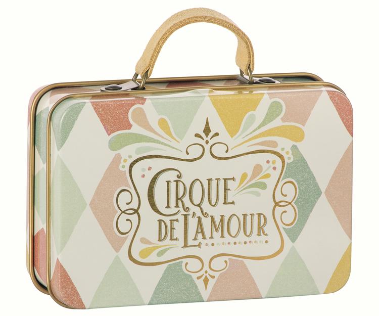 Maileg Metal Suitcase, Harlekin