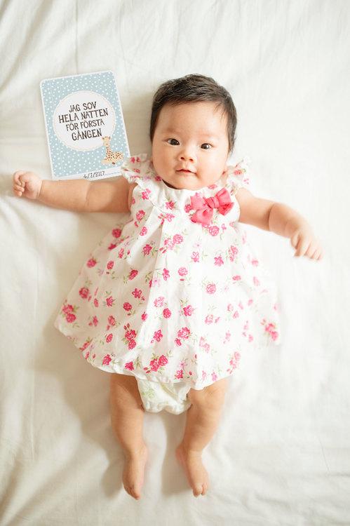 Sophie la girafe baby cards