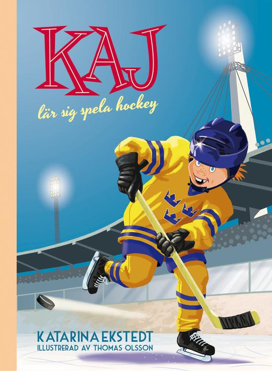 """""""Kaj lär sig spela hockey"""""""