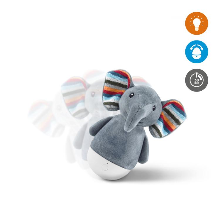 Elli Elefant Vippleksak och nattlampa