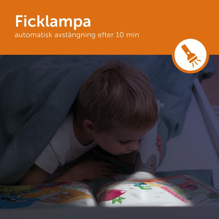ZAZU Gina Ficklampa & nattlampa