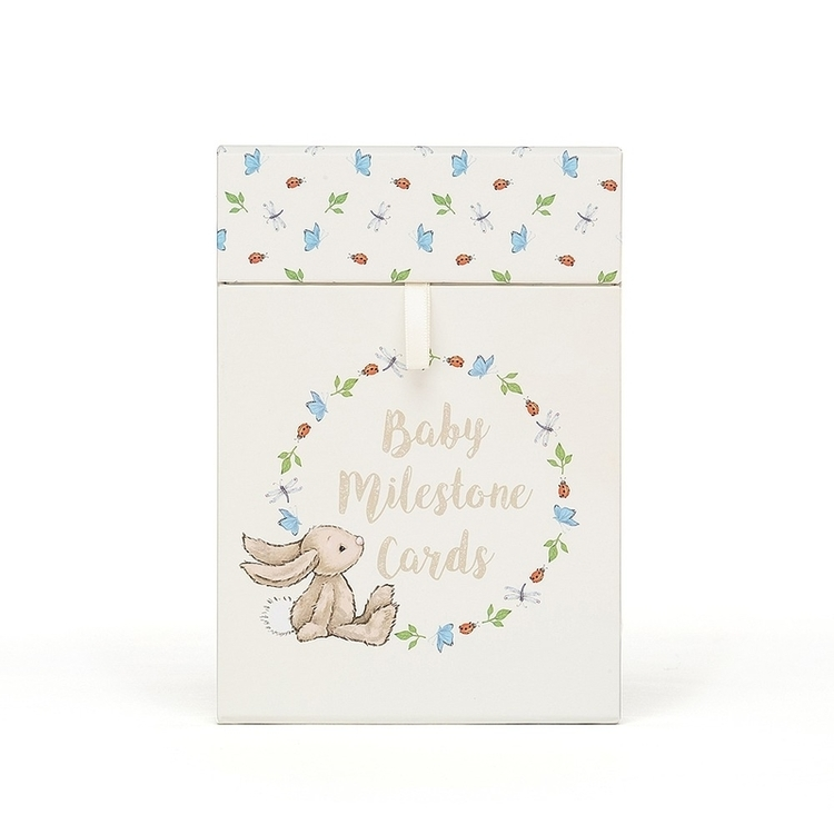 Jellycat Bashful Bunny Milestone Cards