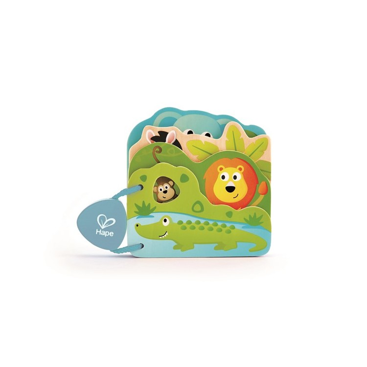 Hape Baby's Wild Animal Book