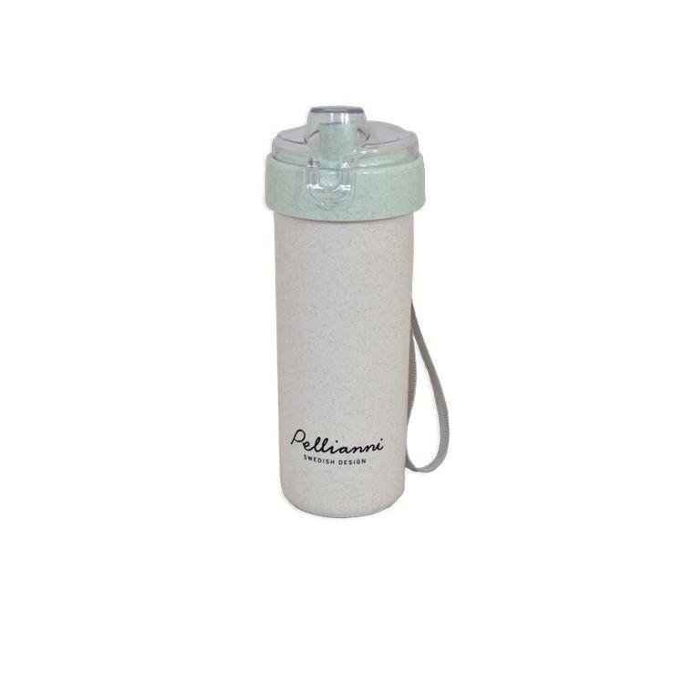 Pellianni Wheat Bottle Green Vattenflaska