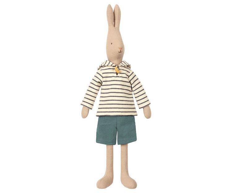 Maileg Rabbit size 3, Sailor - Off white