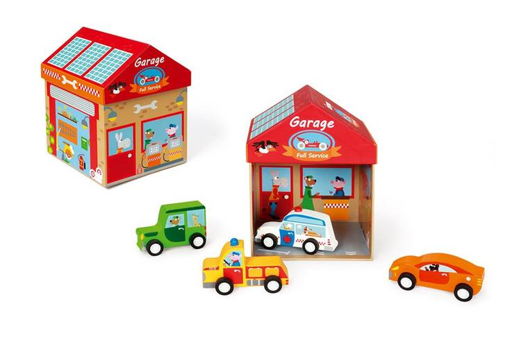 Scratch Play Box Garage