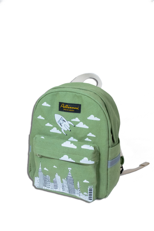 Pellianni City Backpack Green Ryggsäck