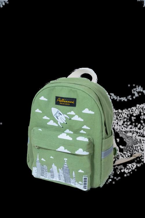 Pellianni City Backpack Green Ryggsäck