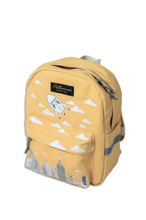 Pellianni City Backpack Mustard Ryggsäck