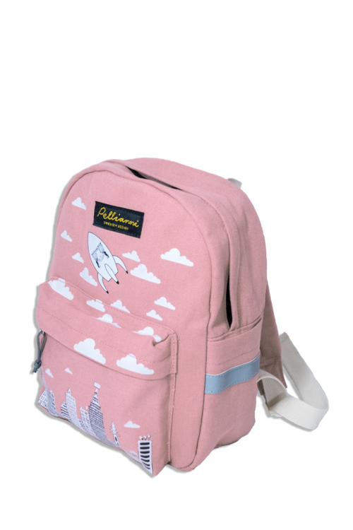 Pellianni City Backpack Pink Ryggsäck