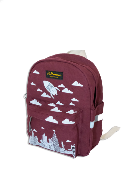 Pellianni City Backpack Red Ryggsäck