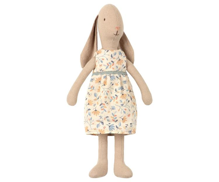 Maileg Bunny size 1, Flower dress