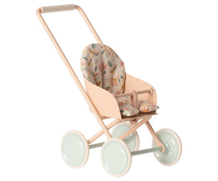 Maileg Stroller, Micro - Powder