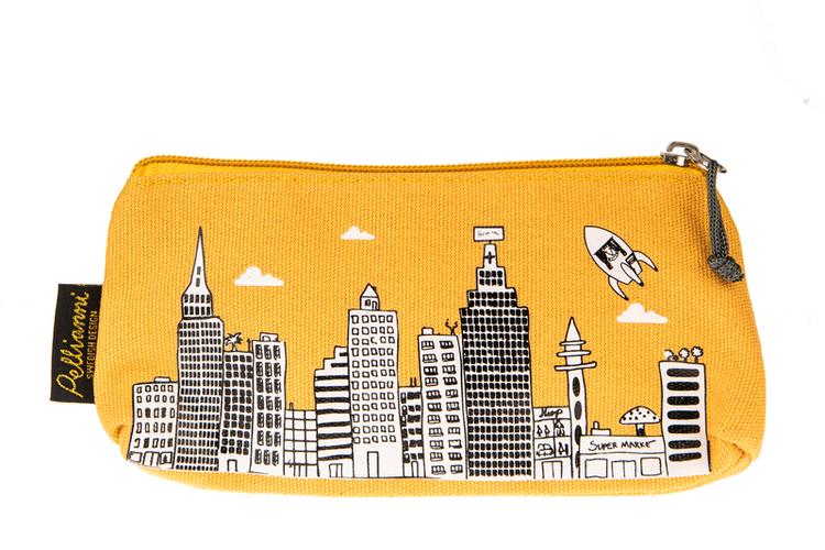 Pellianni City Small bag Mustard
