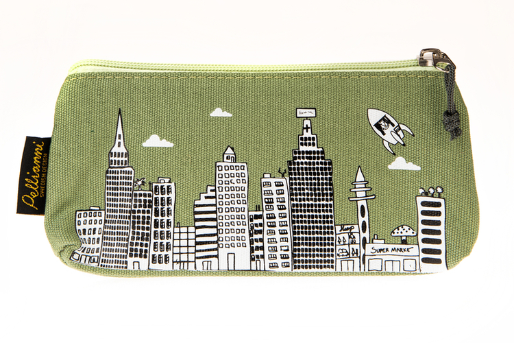 Pellianni City Small Bag Green
