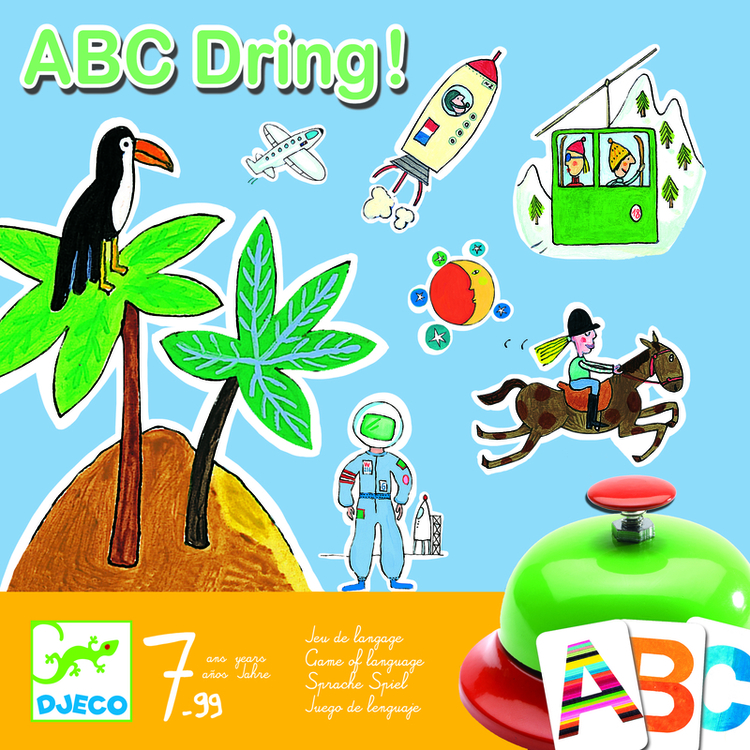 Djeco Spel ABC Dring