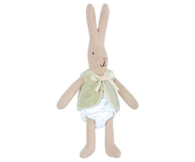 Maileg Micro Rabbit W/West grön