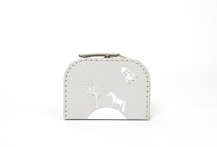 Pellianni Unicorn bag grey - Väska