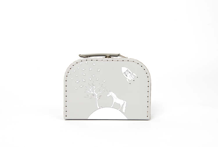 Pellianni Unicorn bag grey - Väska