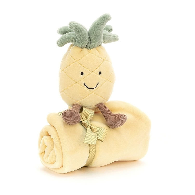 Jellycat Amuseable Pineapple Soother - Snuttefilt