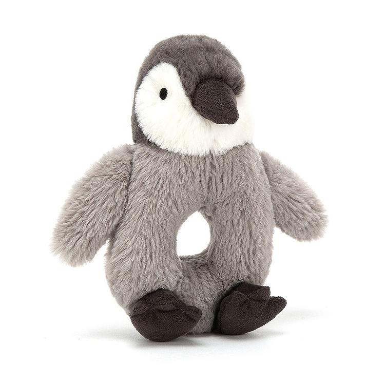 Jellycat Percy Penguin Grabber - Skallra
